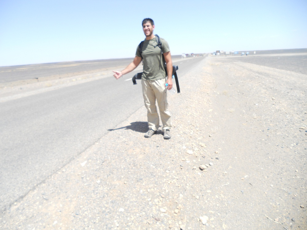 My First Hitchhiking Experience