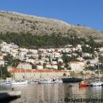 Old Harbor Dubrovnik Croatia.  La marina vieja Dubrovnik Croacia.