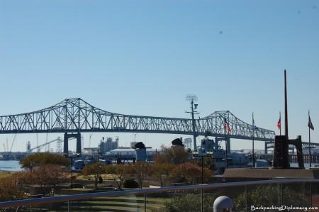 Baton Rouge Bridge. A true Louisiana landmark