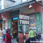 Haunted History Tours in the French Quarter of New Orleans