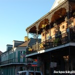 A New Orleans French Quarter Balcony