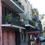 A typical scene in New Orleans