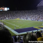 LSU Football game, Louisiana Saturday night.