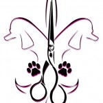 Fleur de lis as used by Melancon Pet Grooming.