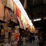 Moroccan markets in Marrakech