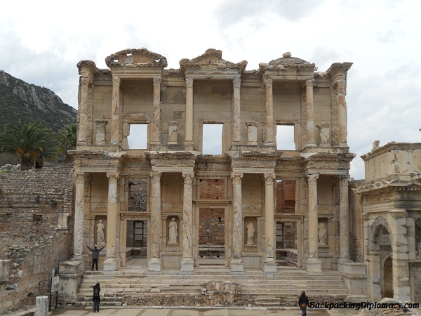 This looks like Jordan, but it is actually in Ephesus Turkey.