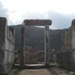 A doorway in Turkey
