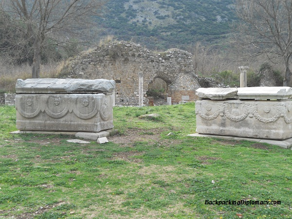 Greek ruins in Turkey