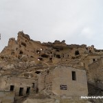 The rock houses in Capadoccia