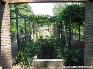 The forbidden garden in Pompeii