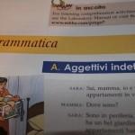 Italian language lesson grammatica