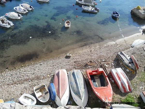 Old harbor Dubrovnik