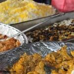 Eating Persian food
