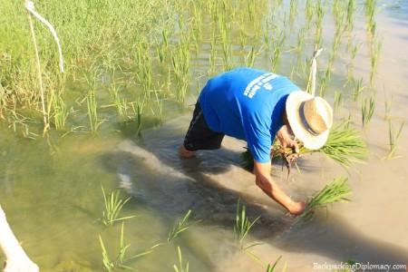 Delta Polet in action. A teacher of eco tourism spain