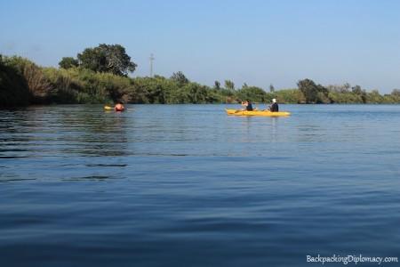 Kayaking in cataluña