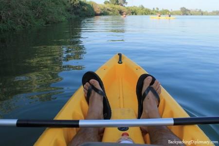 Kayaking in catalonia spain