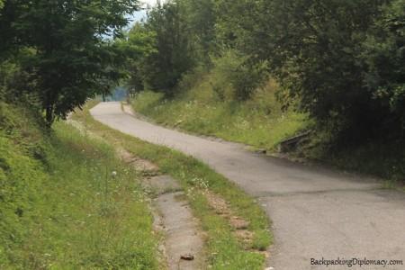 La via verde. Ruta del Ferro Sant Joan de les Abadesses a Ripoll.