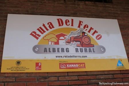 Alberg rural ruta del ferro