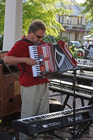Cajun Music Accordion