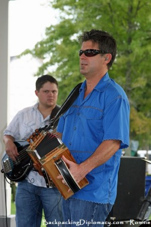 Cajun Music accordion playing