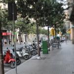 Gracia neighborhood in Barcelona