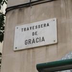 Gracia barrio in Barcelona