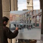 Artists in Segovia