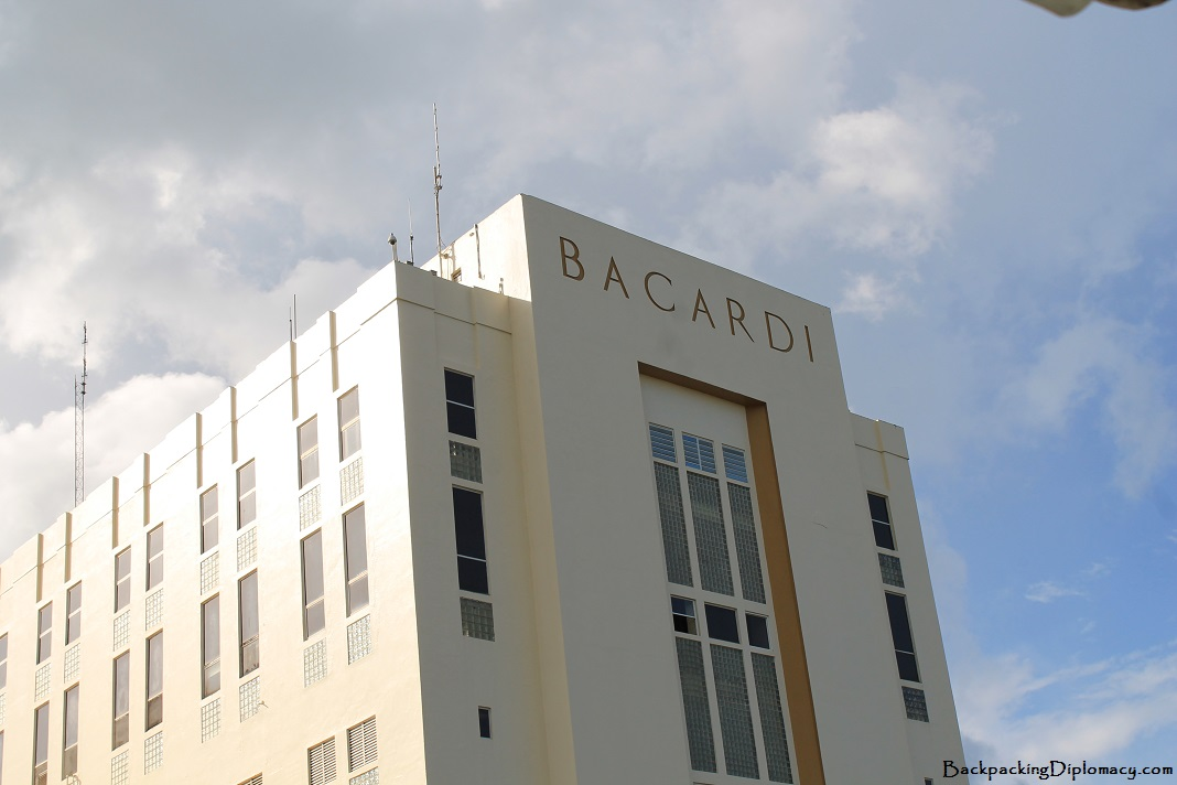 Bacardi Factory in Puerto Rico
