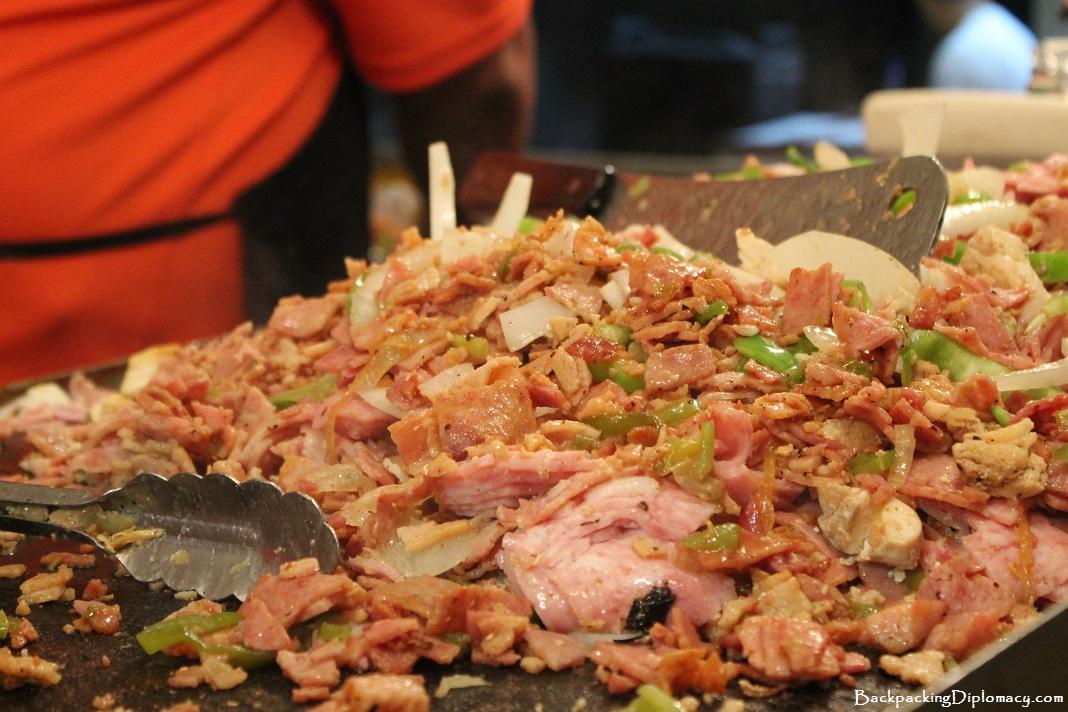 Puerto Rican Streetfood Tripleta