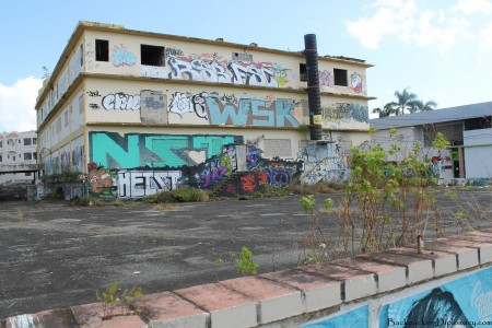 Abandoned building in Puerto Rico