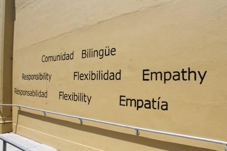 Bilingual school in the Mission