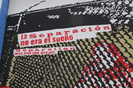 La separación no era el sueño. The separation wasn't the dream.