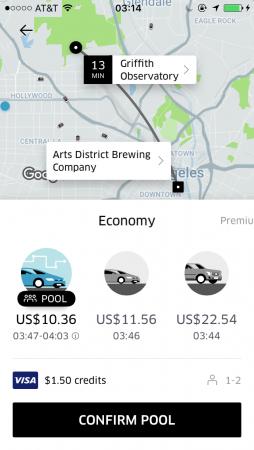 Uber in LA